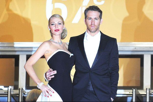 Blake Lively et Ryan Reynolds au Festival de Cannes 2014