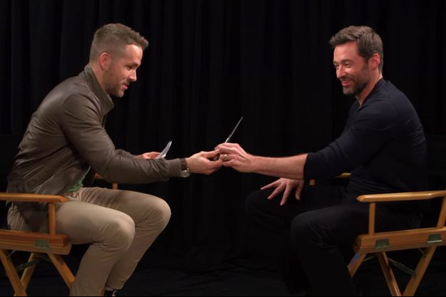 Ryan Reynolds et Hugh Jackman