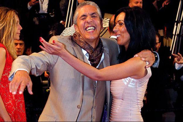 Samy Naceri et Audrey, lors du dernier Festival de Cannes