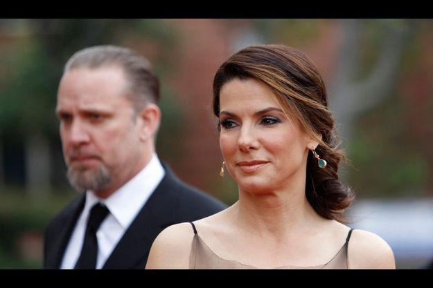 Sandra Bullock et Jesse James.
