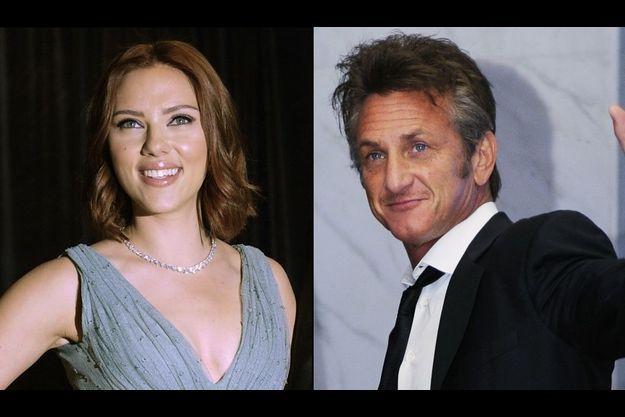 Scarlett Johansson et Sean Penn sont arrivés séparément au dîner, posant pour les photographes un à un.