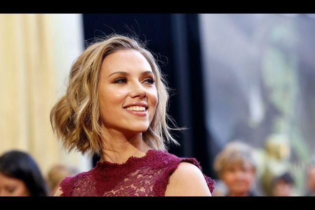 Scarlett Johansson, lors de la dernière cérémonie des Oscars.