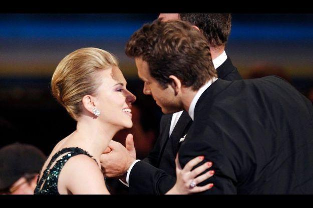 Scarlett Johansson et Ryan Reynolds.