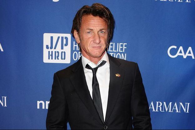 Sean Penn à Los Angeles le 11 janvier 2014