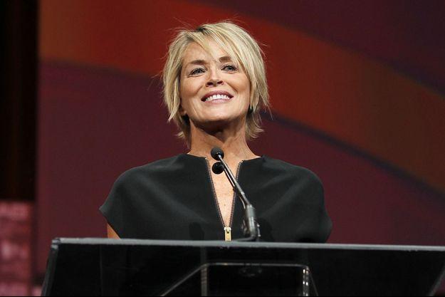Sharon Stone à Las Vegas le 13 avril dernier.