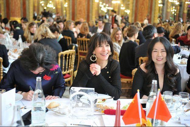 Sophie Marceau au déjeuner du Chinese Business Club.