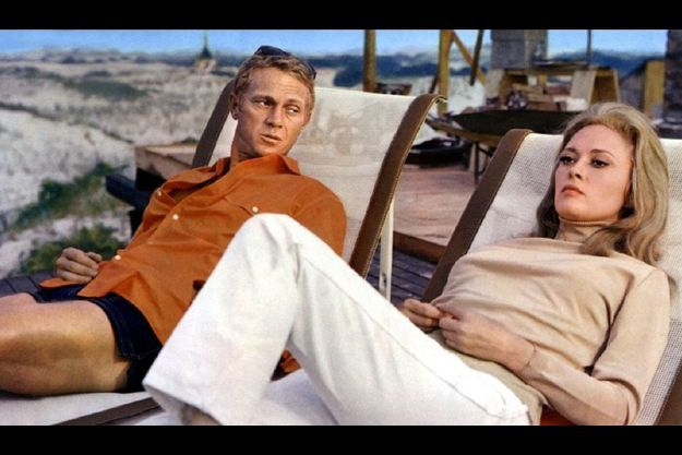 Steve McQueen et Faye Dunaway dans «L'affaire Thomas Crown» (1968).