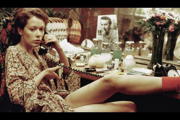 "Sylvia Kristel dans ""Emmanuelle""."