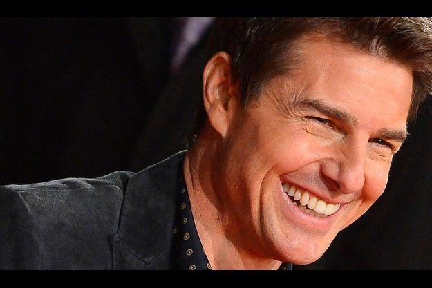 """Tom Cruise, à l'avant-première de """"Jack Reacher""""."""