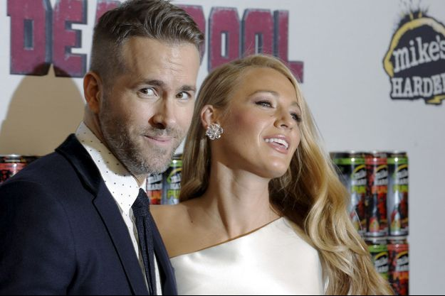 Ryan Reynolds et Blake Lively, le 8 février 2016 à New York.