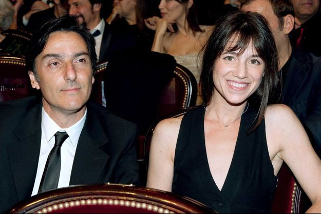Yvan Attal et Charlotte Gainsbourg en 2010.