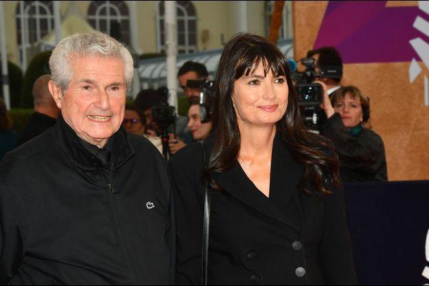 Claude Lelouch et Valérie Perrin en septembre 2019, à Deauville.
