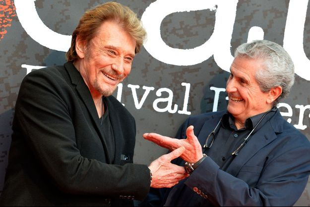 Johnny Hallyday et Claude Lelouch