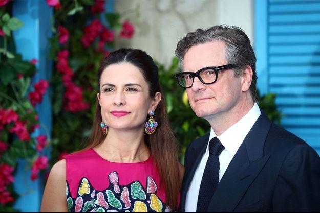 Colin et Livia Firth en juillet dernier.