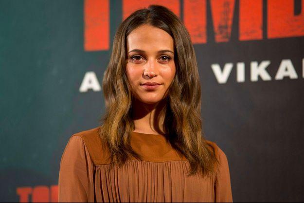 """Alicia Vikander à Madrid pour la promotion de """"Tomb Raider"""""""