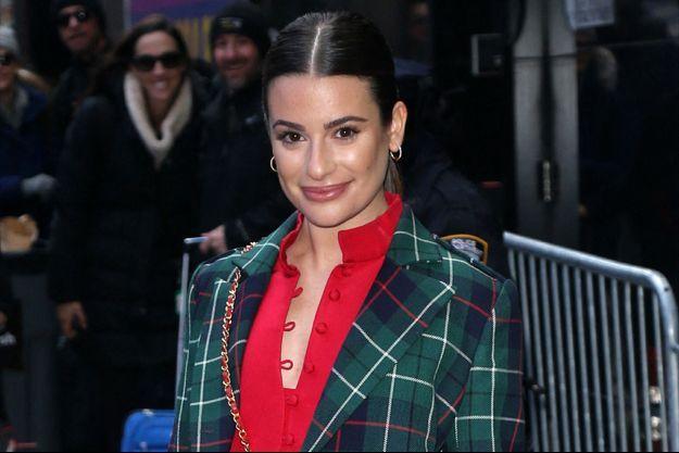 Lea Michele à New York en septembre 2019.