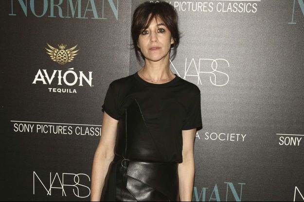 Charlotte Gainsbourg à New York en avril 2017