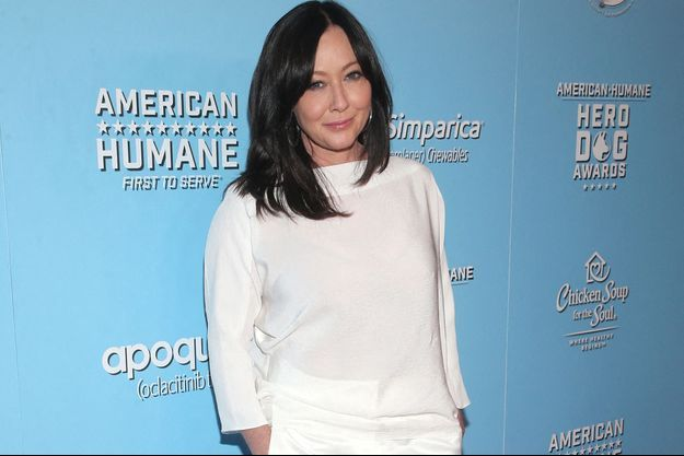 Shannen Doherty en octobre 2019 à Beverly Hills.