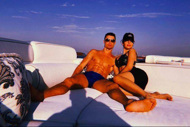 Cristiano Ronaldo et Georgina Rodriguez à Dubaï