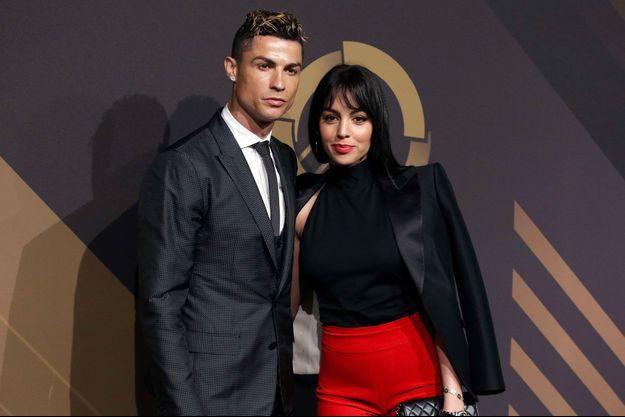 Cristiano Ronaldo et Georgina Rodriguez en mars 2018
