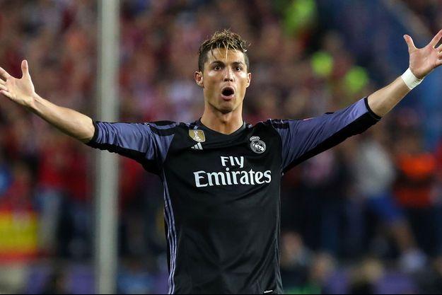 Cristiano Ronaldo le 10 mai dernier.