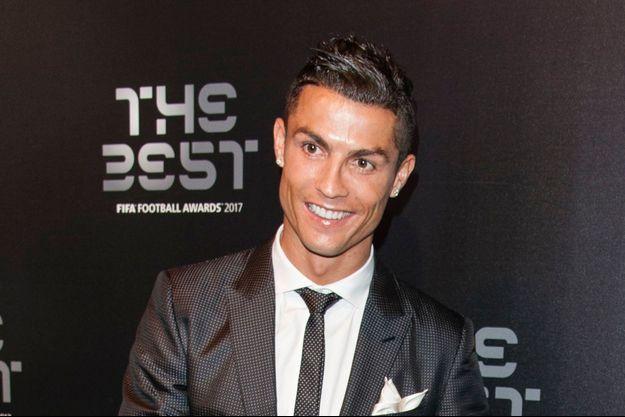 Cristiano Ronaldo, le 23 octobre 2017 à Londres.
