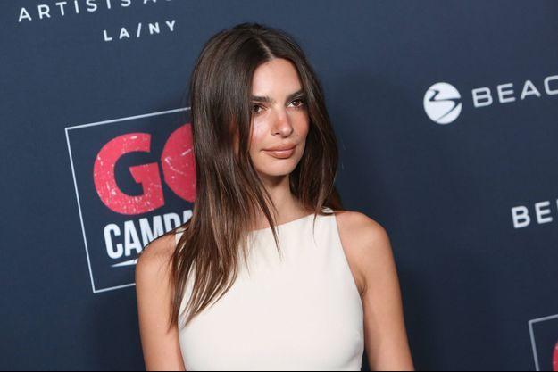 Emily Ratajkowski en novembre 2019 à Los Angeles.