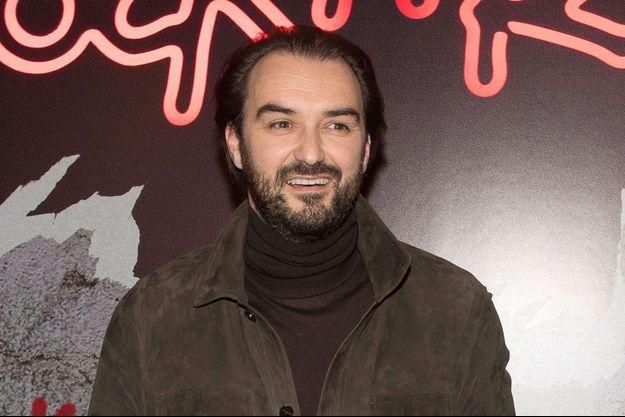 Cyril Lignac lors de l'avant-première de Rock'n Roll, le 13 février 2017 à Paris.