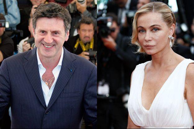 Emmanuelle Béart et Daniel Auteuil