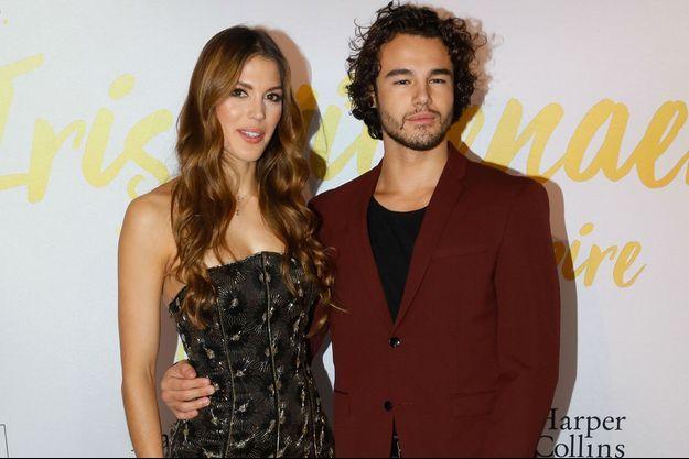 Iris Mittenaere et son danseur Anthony Colette.
