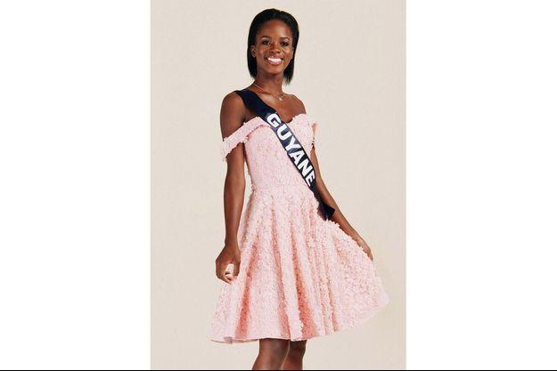 Dariana Abé, Miss Guyane
