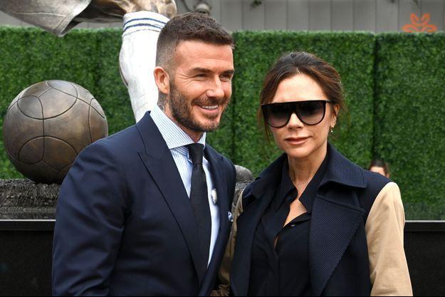 David et Victoria Beckham à Los Angeles, le 2 mars 2019