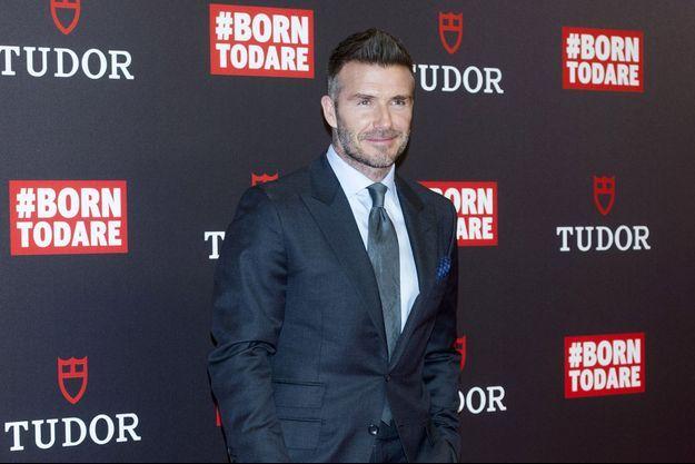 David Beckham à Madrid, le 29 avril 2019