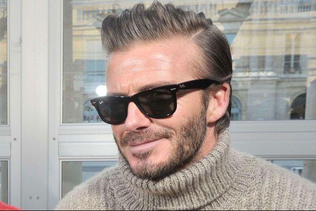 David Beckham à Paris