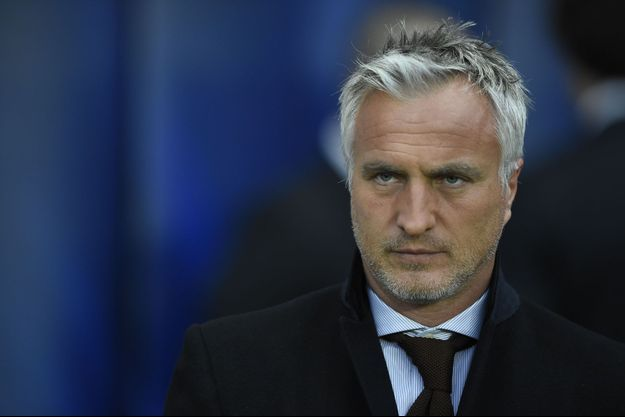 David Ginola, le 2 avril 2014 à Paris.