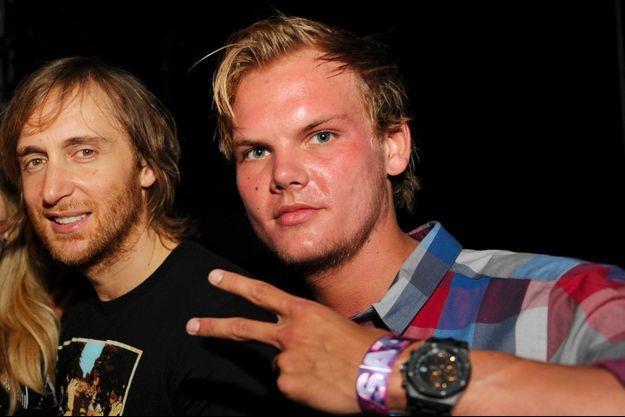 David Guetta et Avicii en 2012
