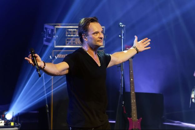David Hallyday en concert le 22 septembre à Villeparisis.