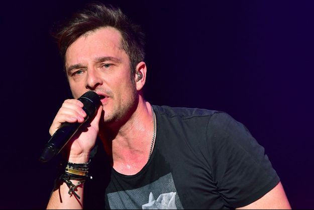 David Hallyday, à Paris en janvier 2015