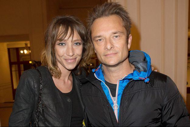 Laura Smet et David Hallyday en 2013