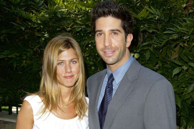 Jennifer Aniston et David Schwimmer