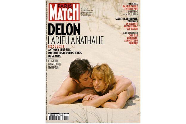 En mai 1967, au banc d'Arguin, dans le bassin d'Arcachon. Nathalie Delon est morte le 21 janvier à Paris.