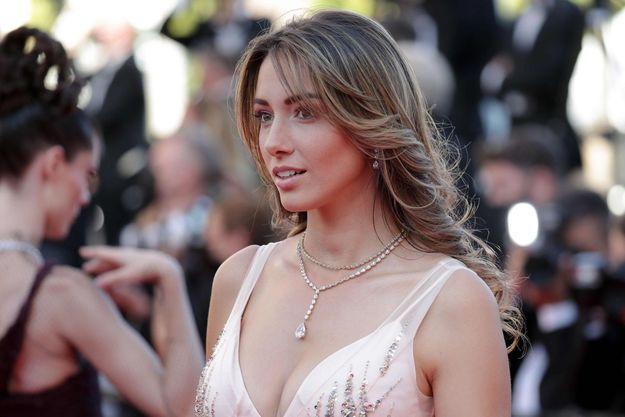 Delphine Wespiser en juillet 2021 à Cannes.