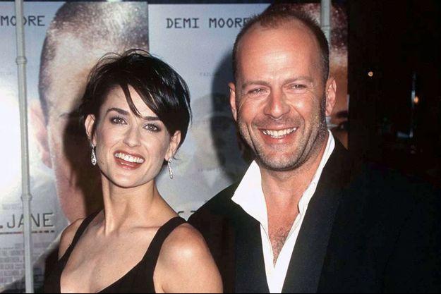 Demi Moore et Bruce Willis à Los Angeles, le 6 août 1997