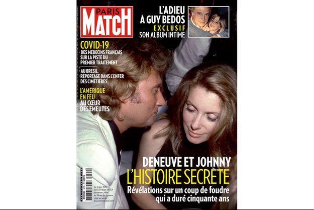 Le 16 juin 1981, dans une boîte de nuit parisienne, pour les 38 ans du chanteur, vingt ans après leur première rencontre.