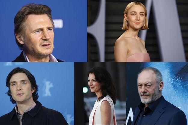 Liam Neeson, Saoirse Ronan, Cillian Murphy, Michelle Fairley et Liam Cunningham se sont engagés pour le droit à l'avortement.