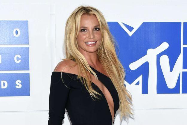 Britney Spears, le 28 août 2016.