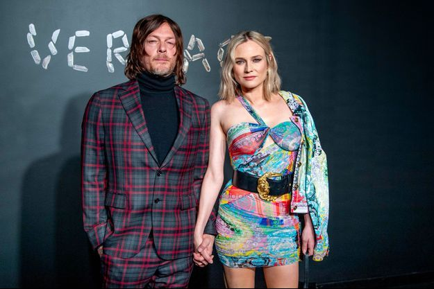 Diane Kruger et Norman Reedus, décembre 2018
