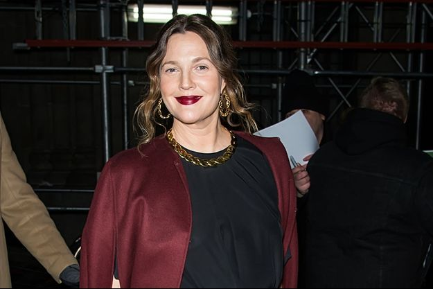 Drew Barrymore à New York en janvier 2020.