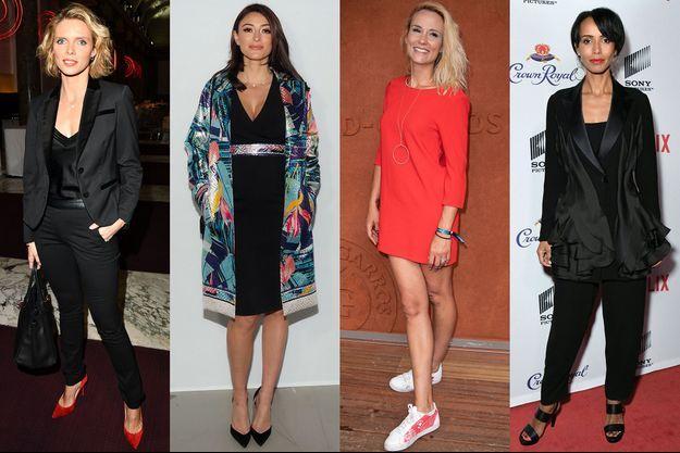 Sylvie Tellier, Rachel Legrain-Trapani, Elodie Gossuin et Sonia Rolland.