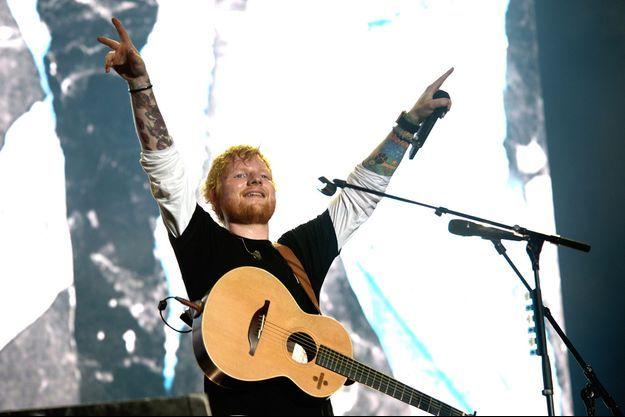 Ed Sheeran au Sziget Festival en août 2019